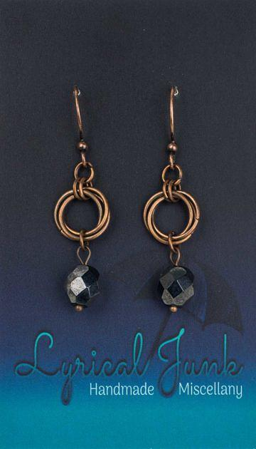 Czechglassmobiusearrings_charcoal