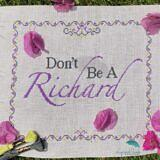 Don't Be A Richard_1 logo