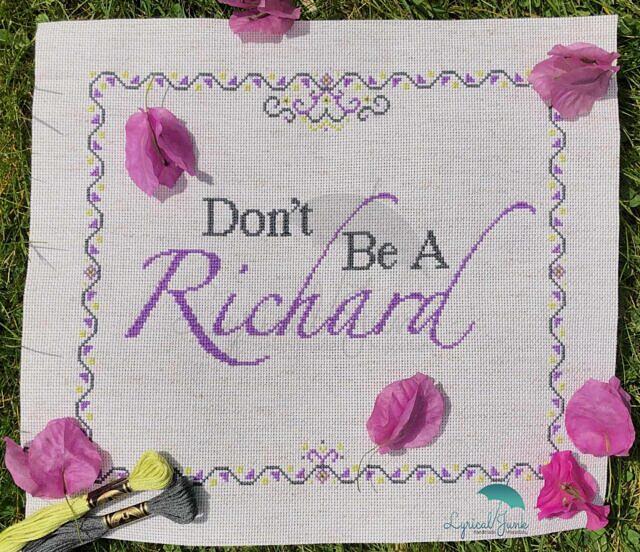 Don't Be A Richard_1 logo