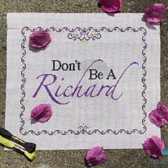 Don't Be A Richard_2 logo