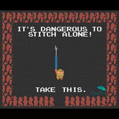 It's Dangerous to Stitch Alone!