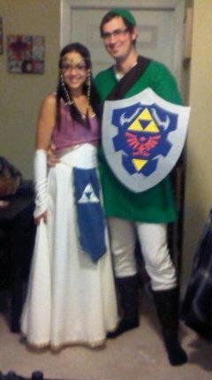 Link & Zelda costumes
