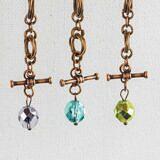 Mobius bracelet charms