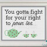 Right to Pour Tea_framed view