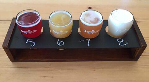 Smithers Brewing flight